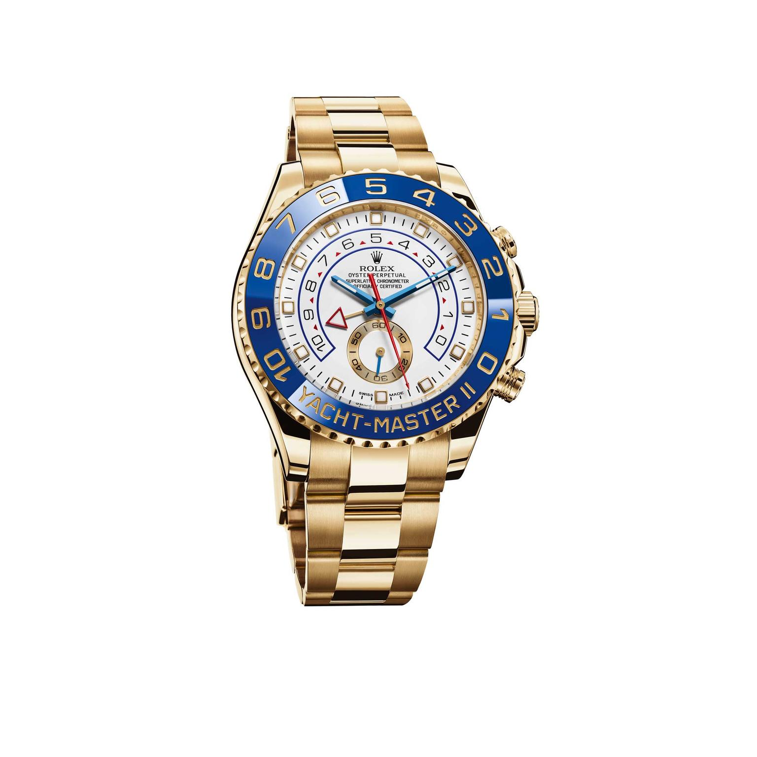 Rolex Yacht-Master II yellow gold