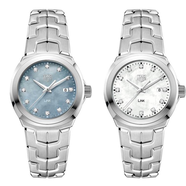 TAG Heuer Lady Link diamond dot watch