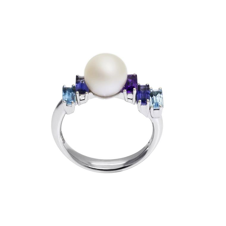 Morning Light pearl ring