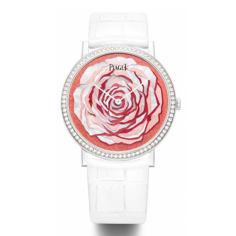 Watches with flower dials