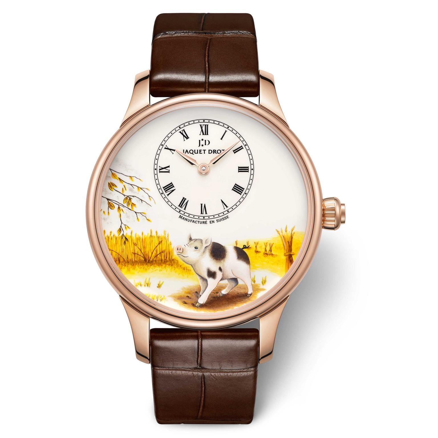 Jaquet Droz Year of the pig mens watch