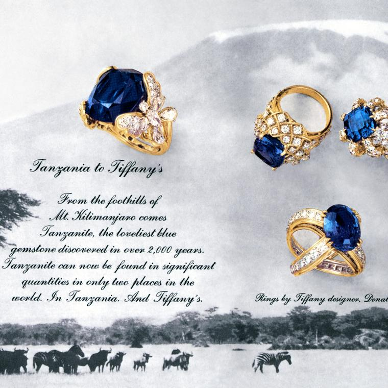 50 Years Of Tanzanite The Ultimate Blue Gem The