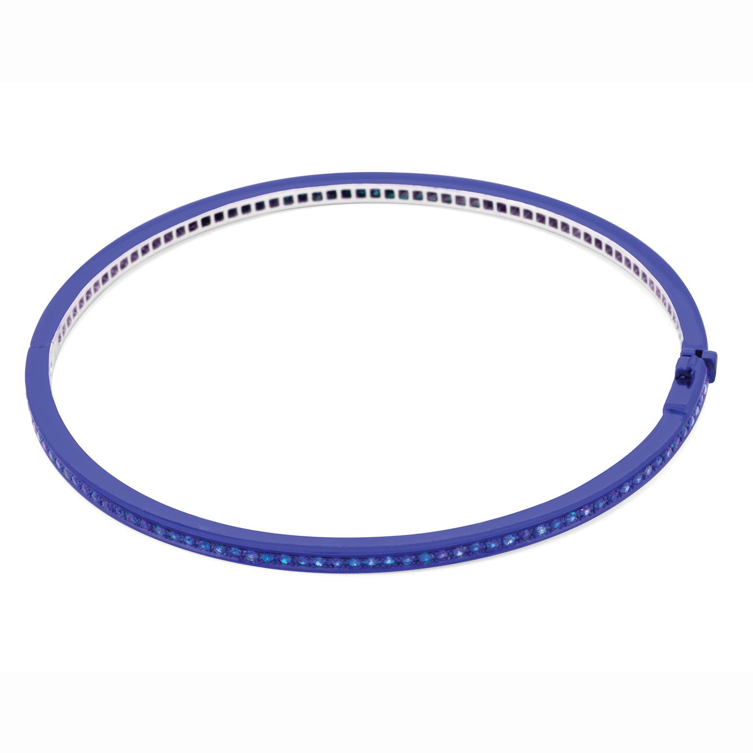 Solange Azagury-Partridge Chromantic Sapphire bangle