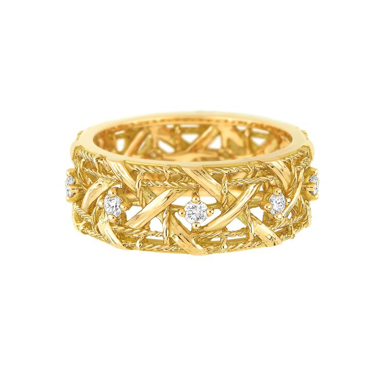My Dior yellow gold and diamond ring