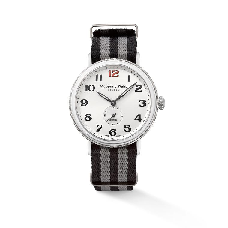 Campaign Automatic watch with a NATO strap