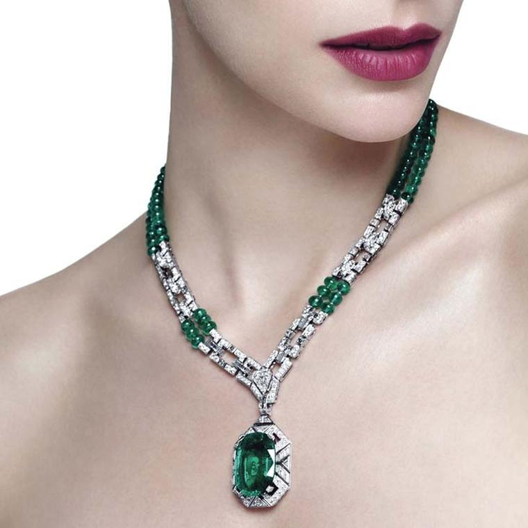 Biennale des Antiquaires: the big three majestic gemstones adorn the new Cartier Royal collection