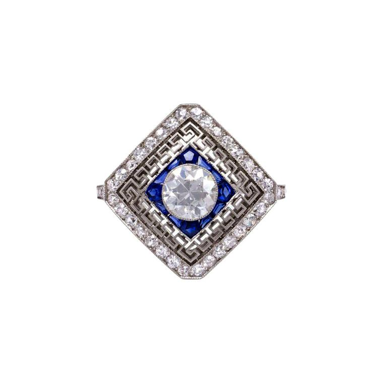 Kentshire diamond ring