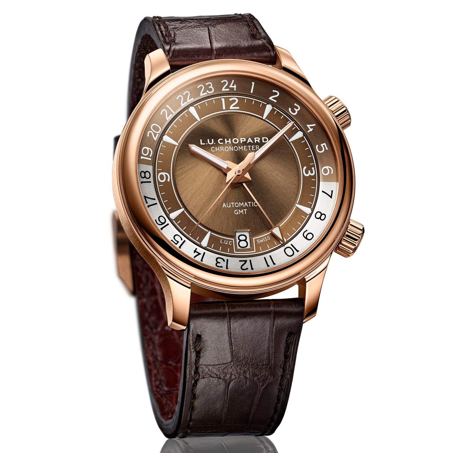 Chopard L.U.C GMT One watch in rose gold