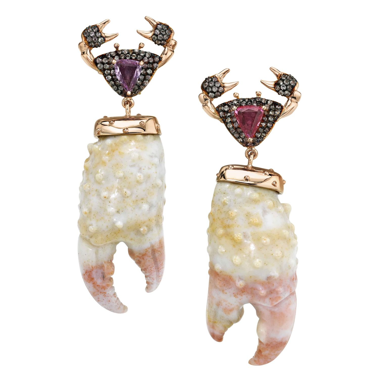 Attina earrings from Daniela Villegas