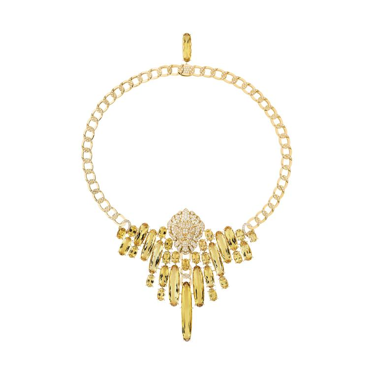 Chanel L'Esprit du Lion Dazzling lion necklace