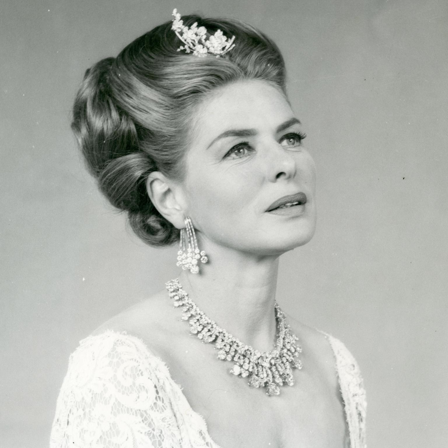 Ingrid Bergman wearing Bulgari