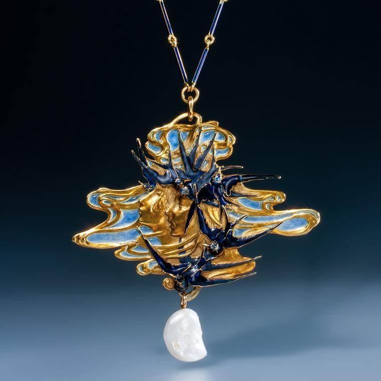 Epoque Fine Jewels René Lalique pendant