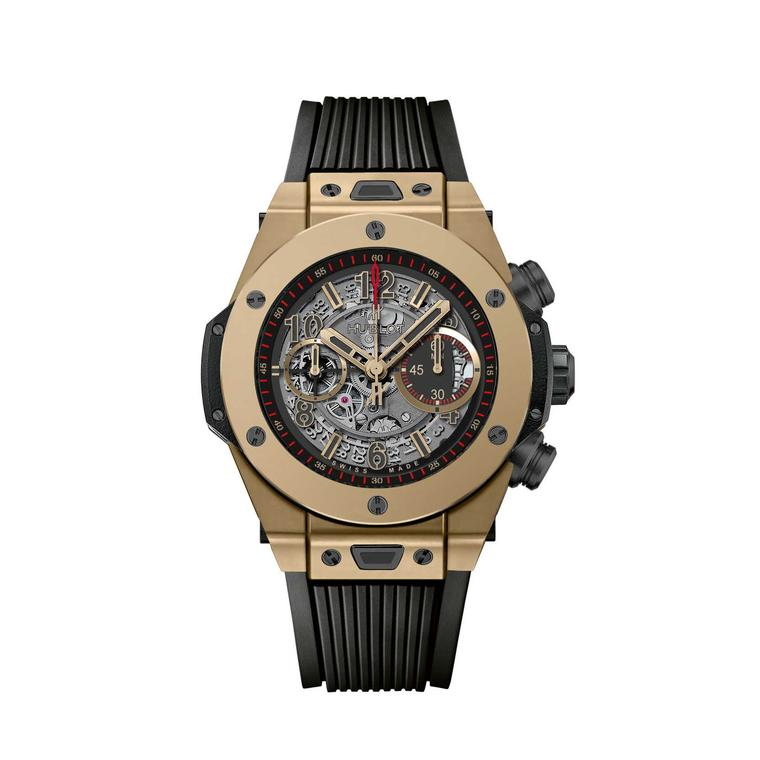 Hublot Big Bang Unico Full Magic Gold