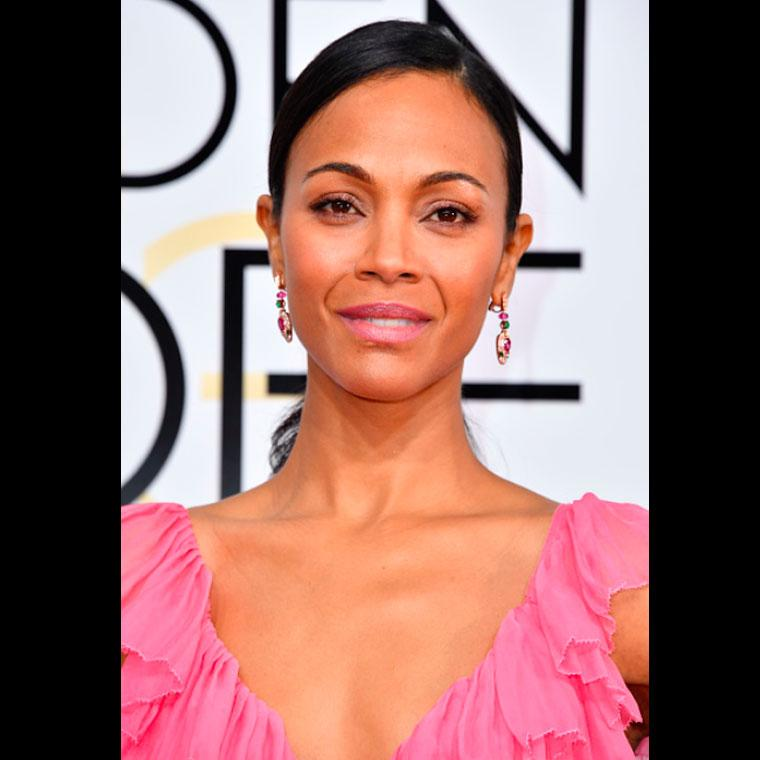 Zoe Saldana Bulgari Serpentiearrings
