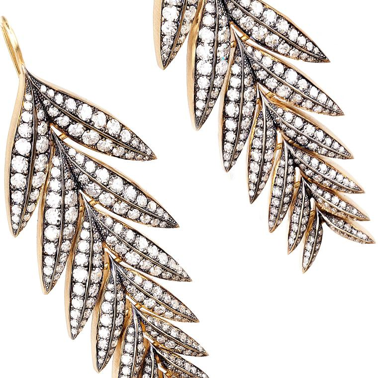 Holiday gift guide: diamond earrings with an elegant edge