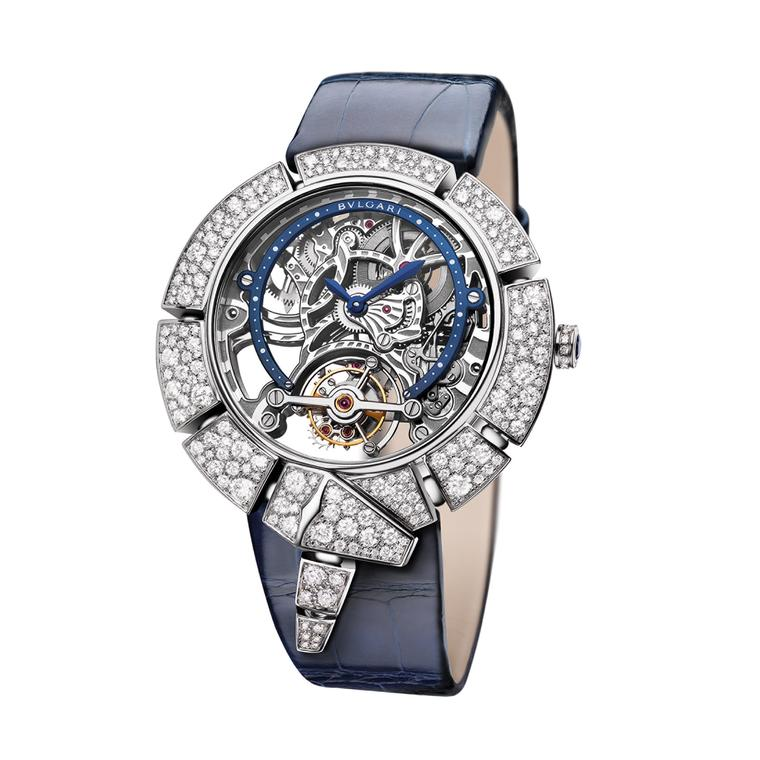 Bulgari Serpenti Incantati Tourbillon Skeleton watch