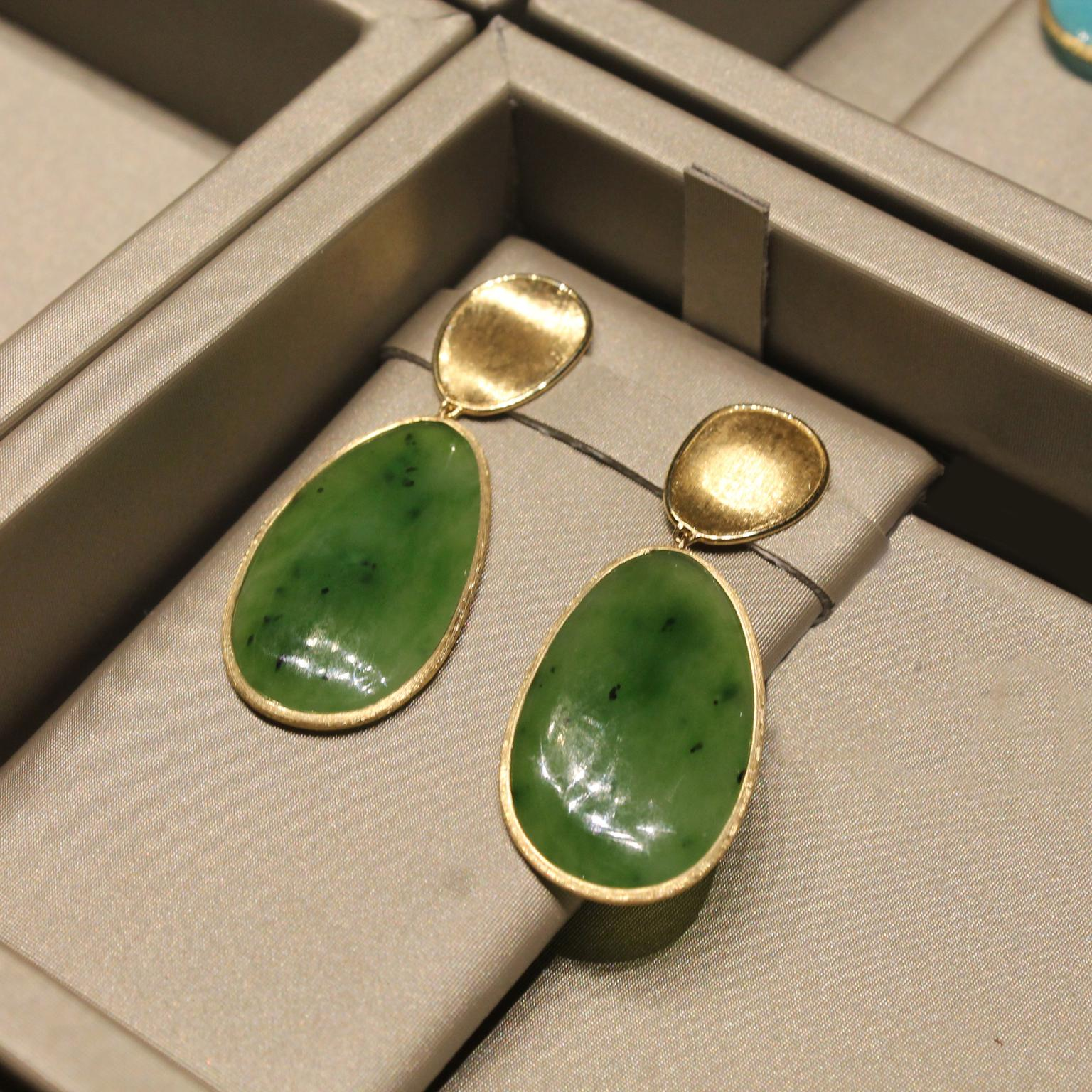 Marco Bicego Unico jade earrings