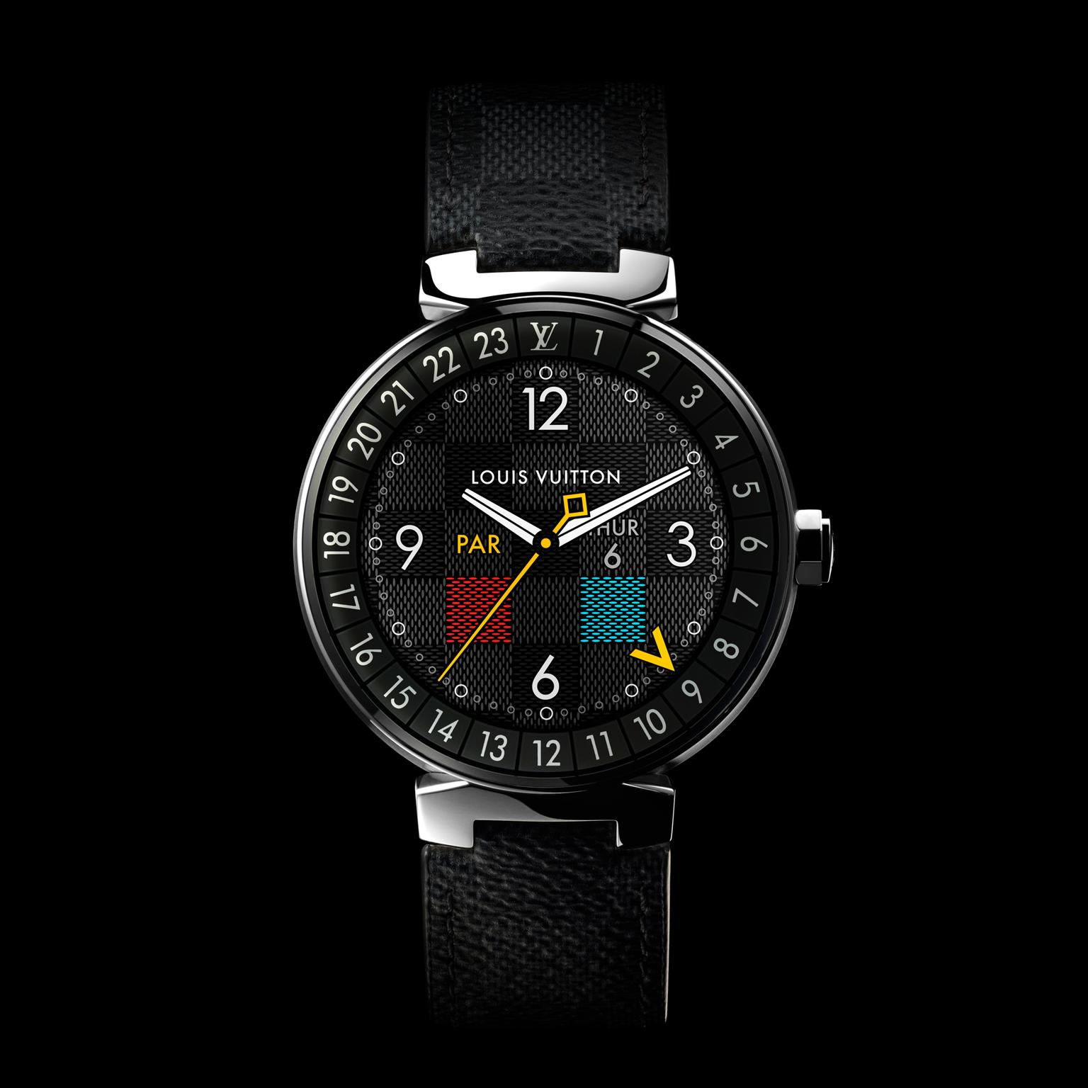 Louis Vuitton Tambour Horizon Graphite