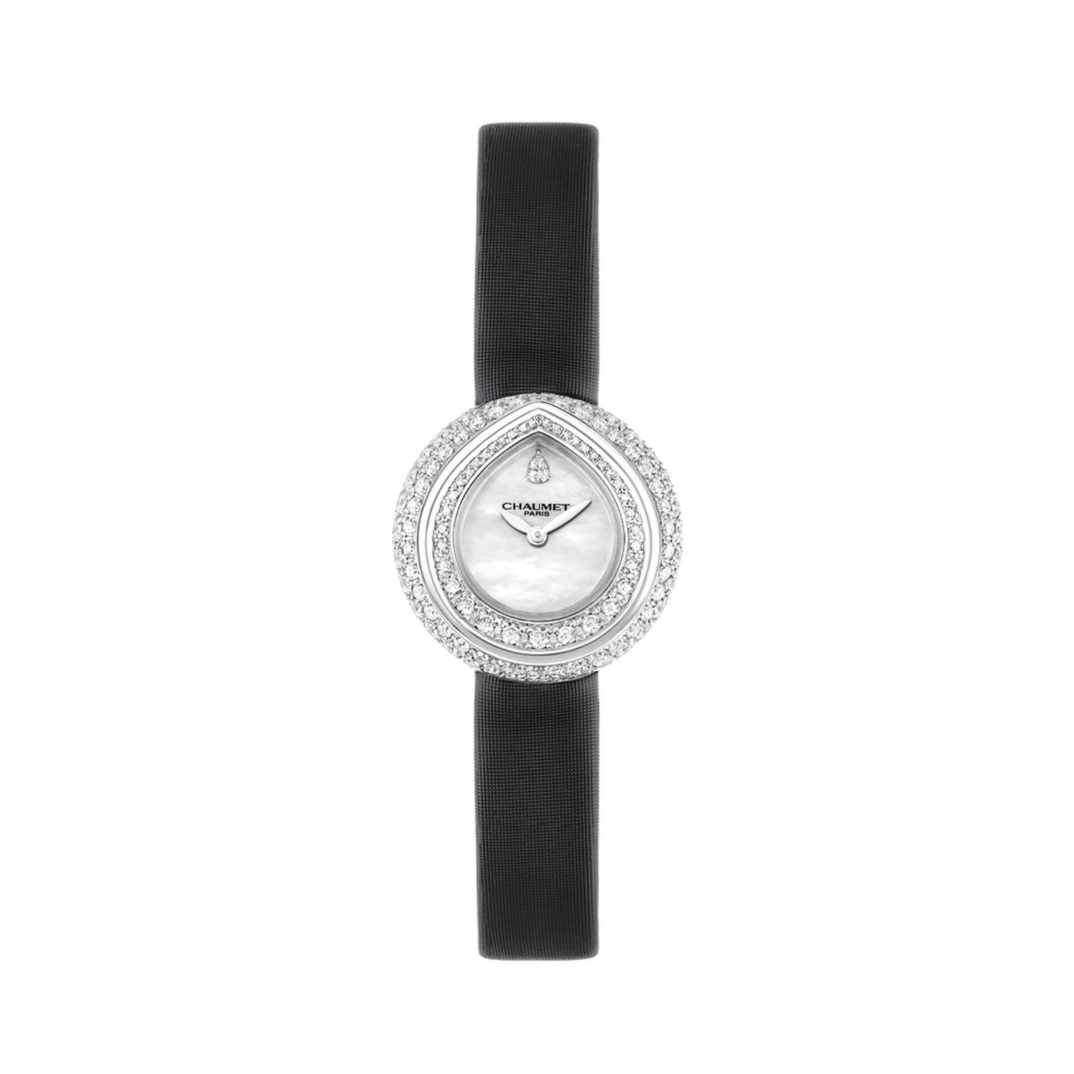Chaumet Joséphine Rondes de Nuit watch with black satin strap