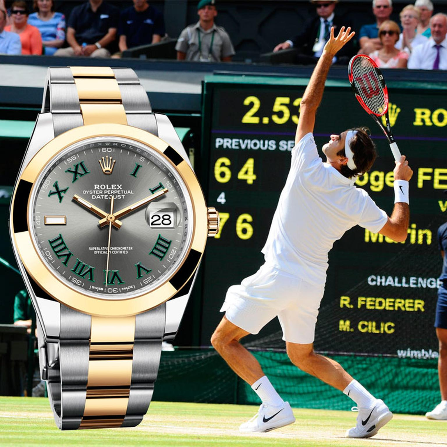 Keep your eyes peeled for these Wimbledon watches