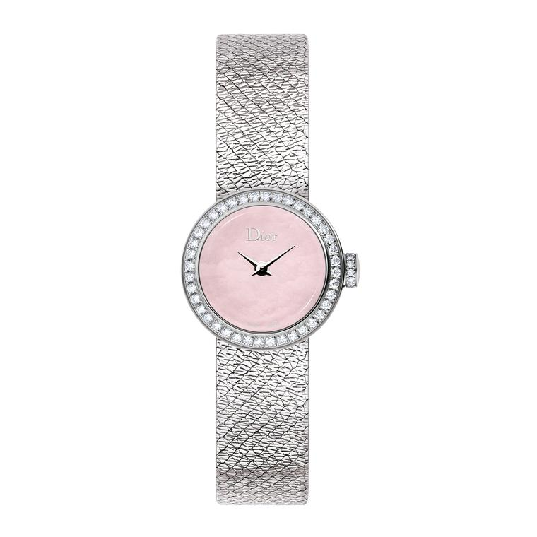 La Mini D de Dior Satine watch
