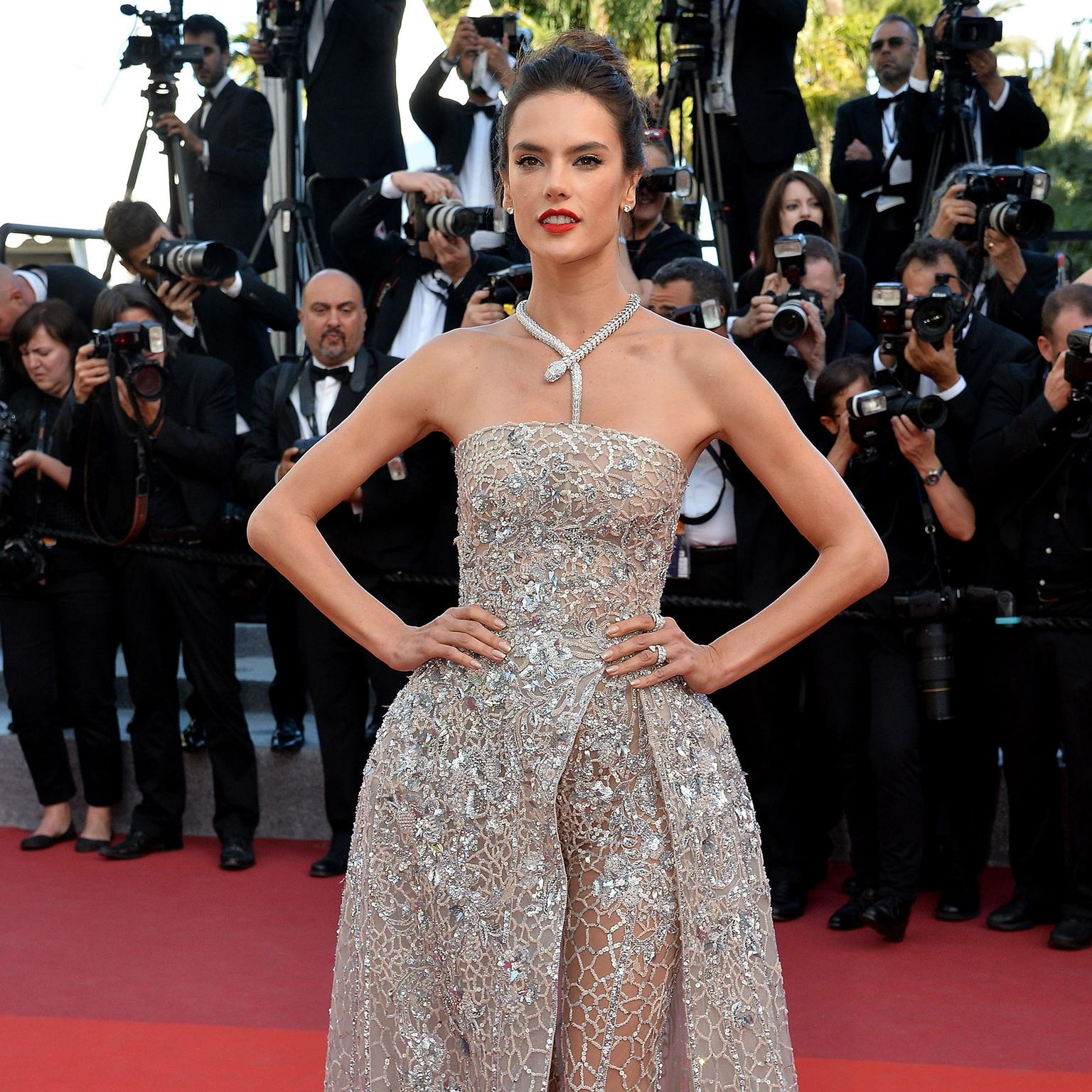Cannes 2016 Day 10: Alessandra Ambrosio in Bulgari and Zuhair Murad
