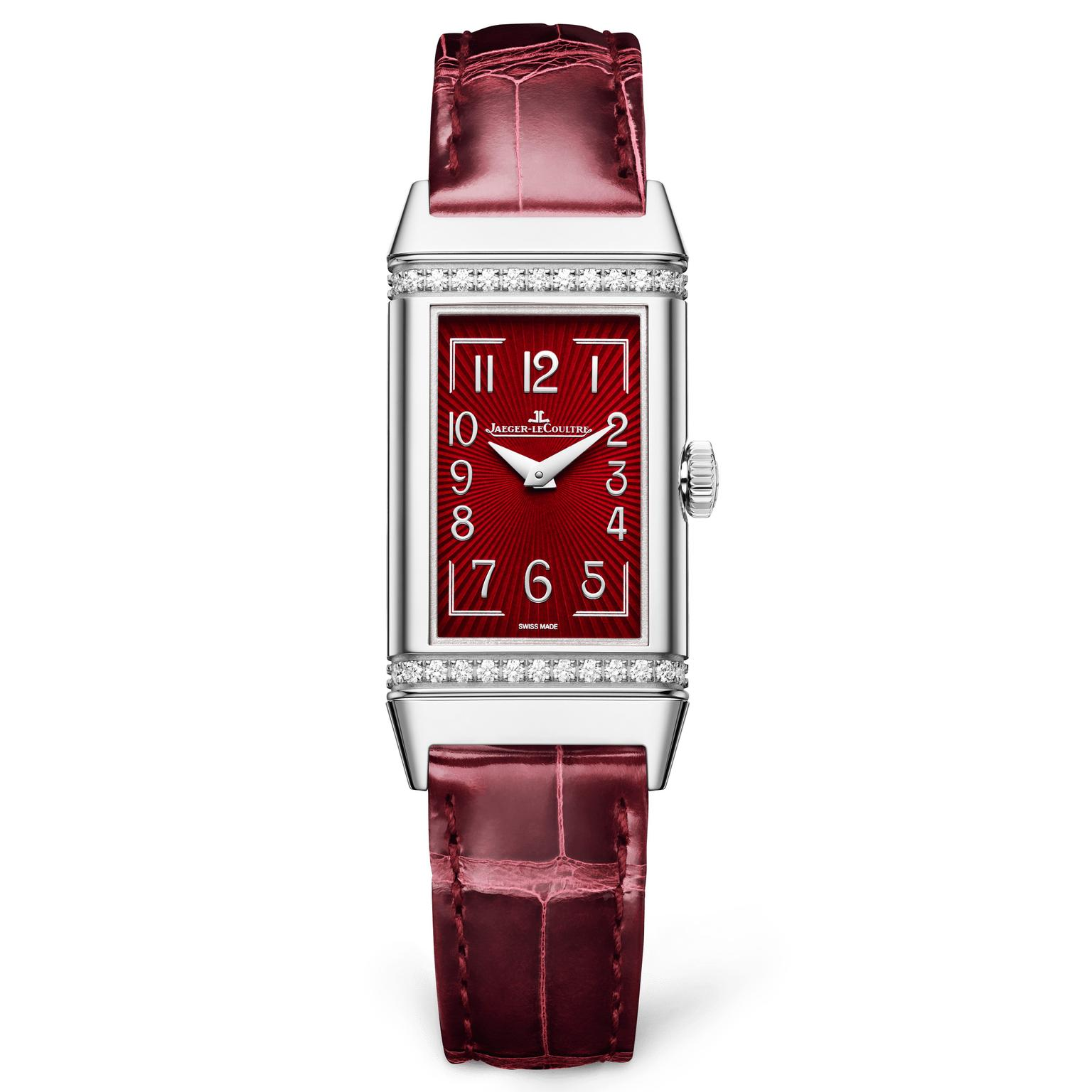 Jaeger-LeCoultre Reverso One on white backgound