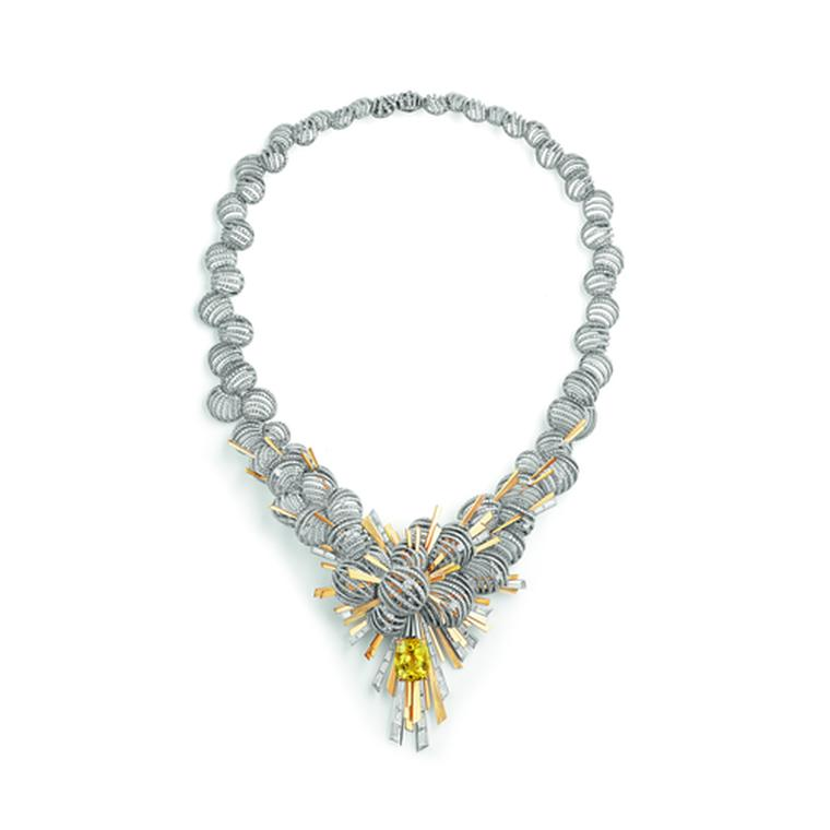 Les Ciels de Chaumet Nuages d'Or necklace