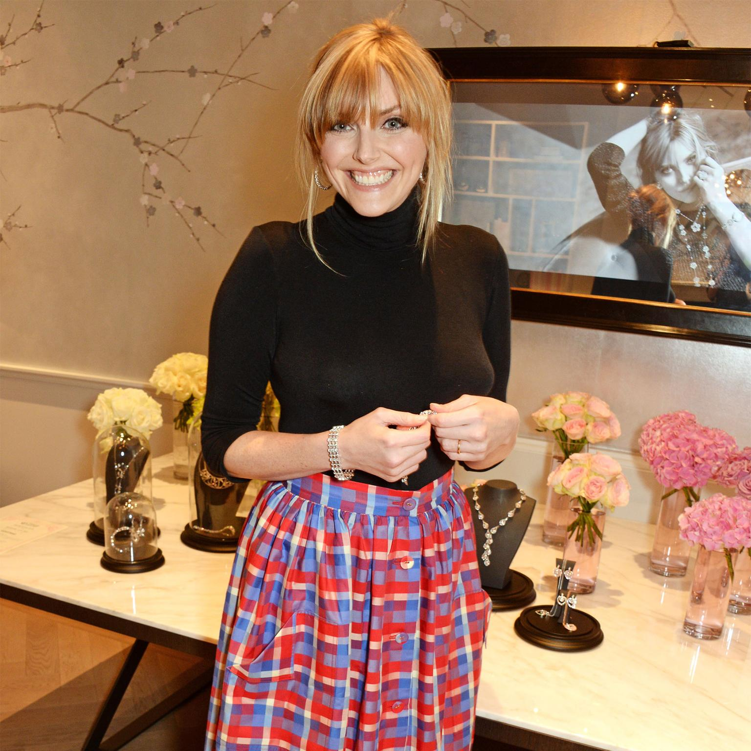 Sophie Dahl at a Boodles Sophie collection press day