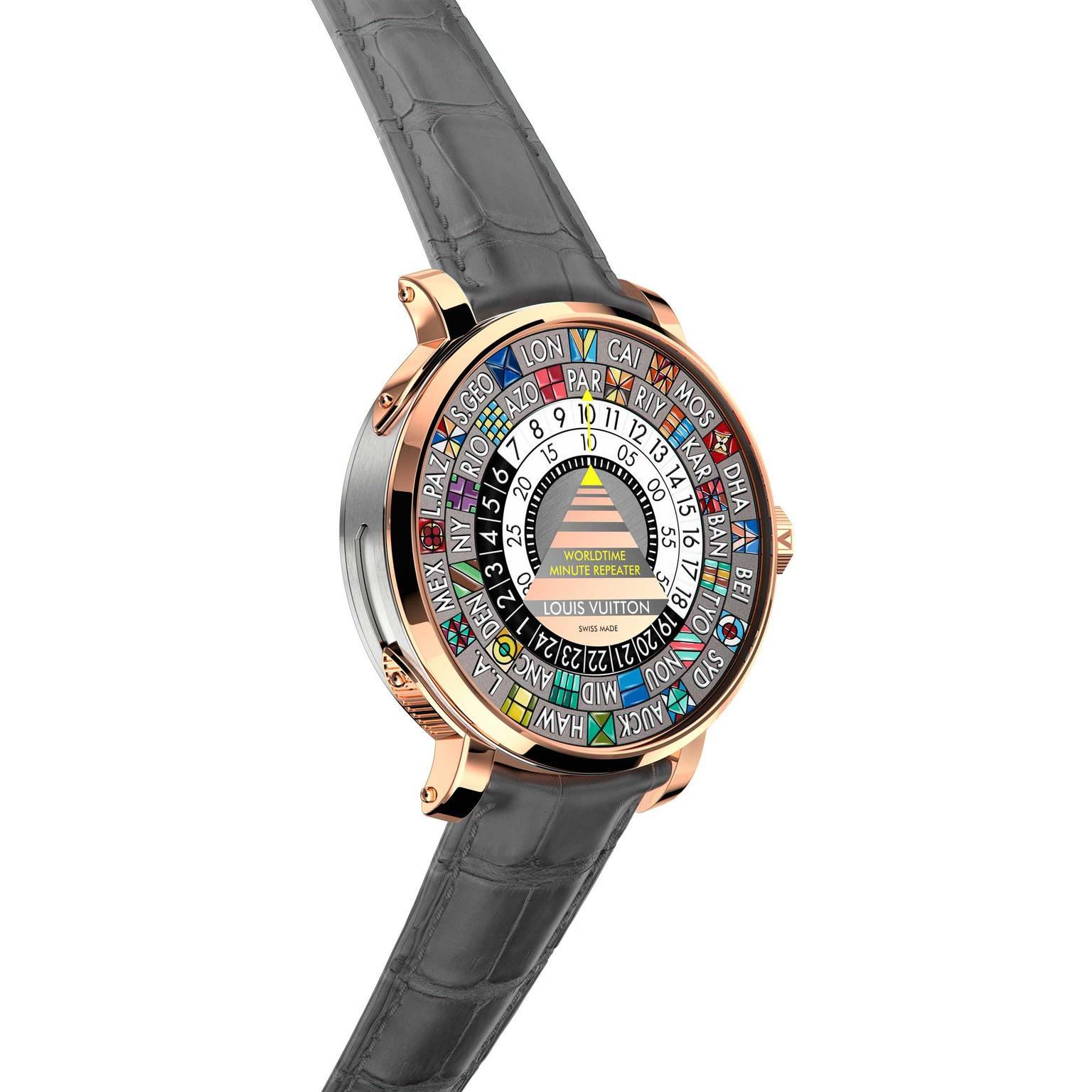 Louis Vuitton Escale Minute Repeater Worldtime
