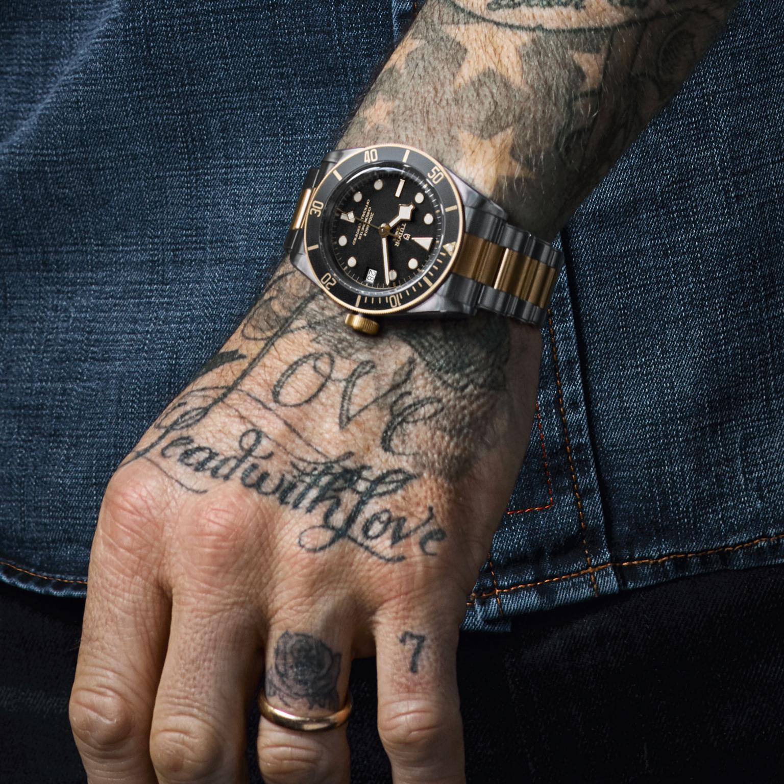 David Beckham for Tudor's Born to Dare watch campaign