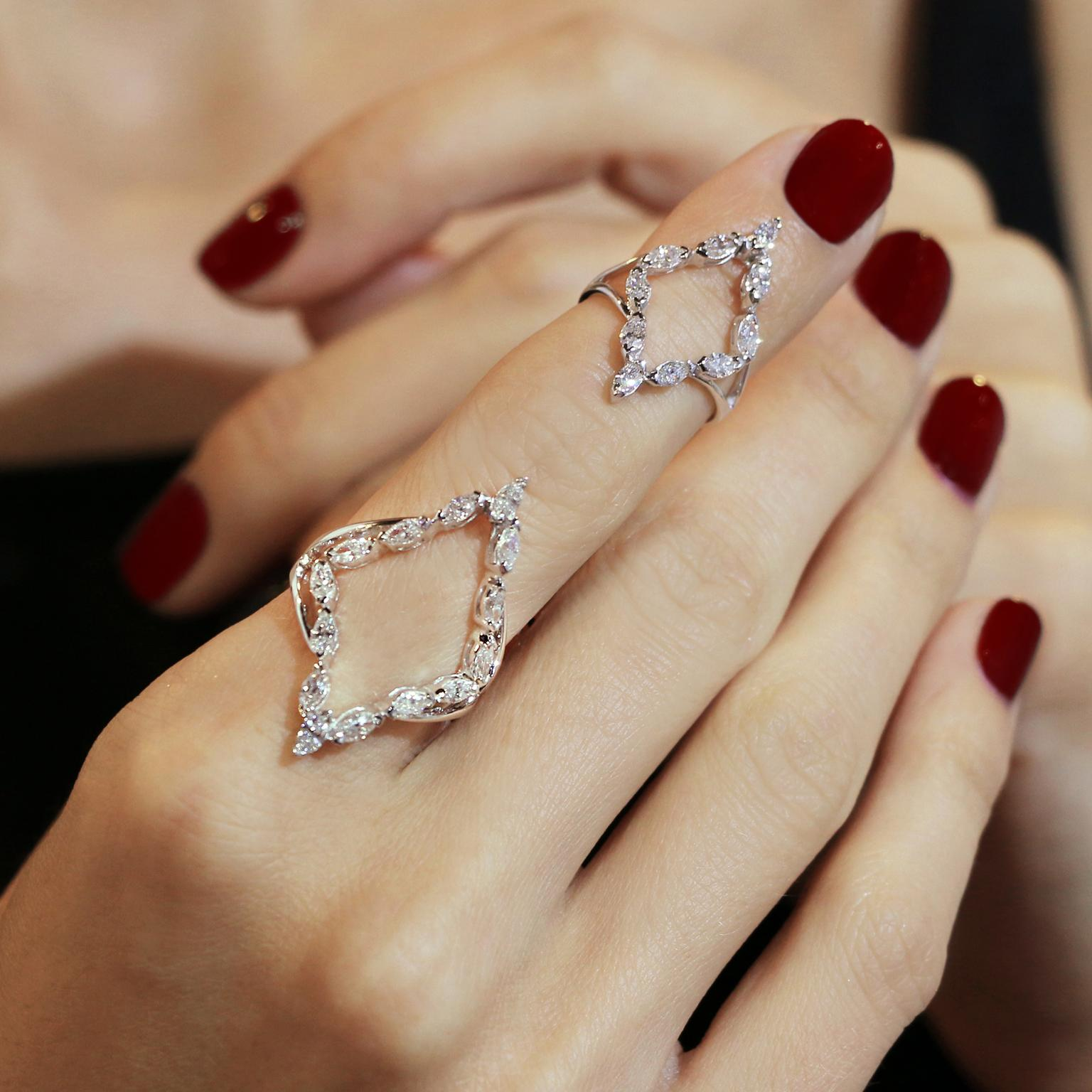 Sidney Chung for Plukka diamond rings