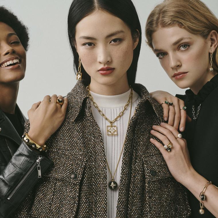 Louis Vuitton B.Blossom jewellery on models