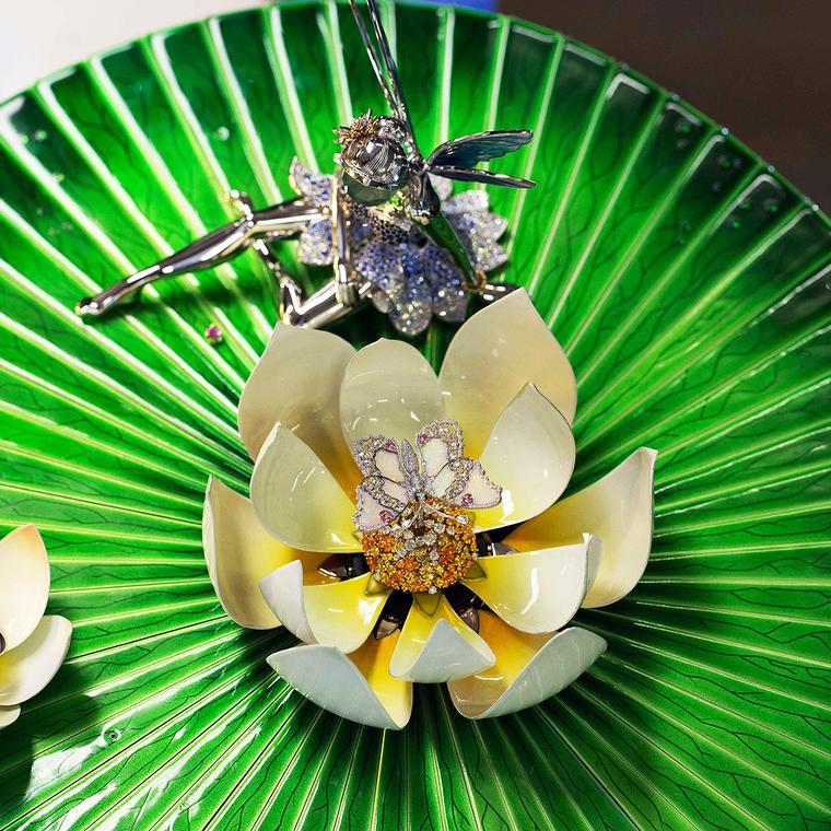 Van Cleef & Arpels Fée Ondine fairy and lily