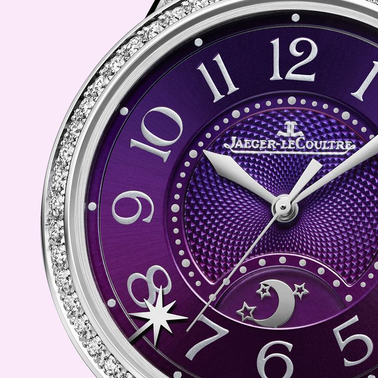 Jaeger-LeCoultre Rendez-Vous Sonatina Large in white gold purple dial