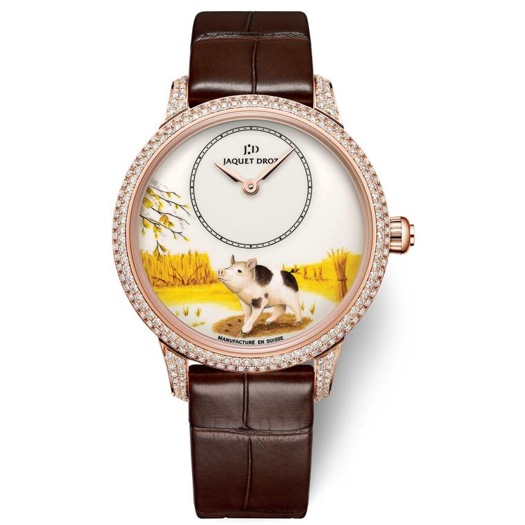 Jaquet Droz Year of the pig womens watch