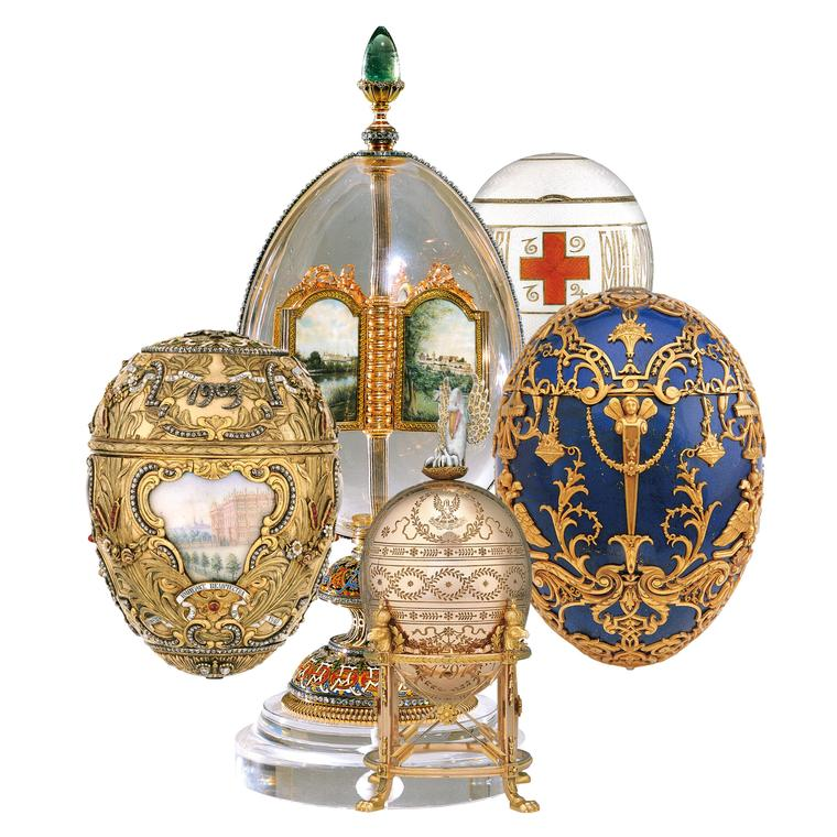 Better than chocolate: Fabergé's Imperial  Easter Eggs