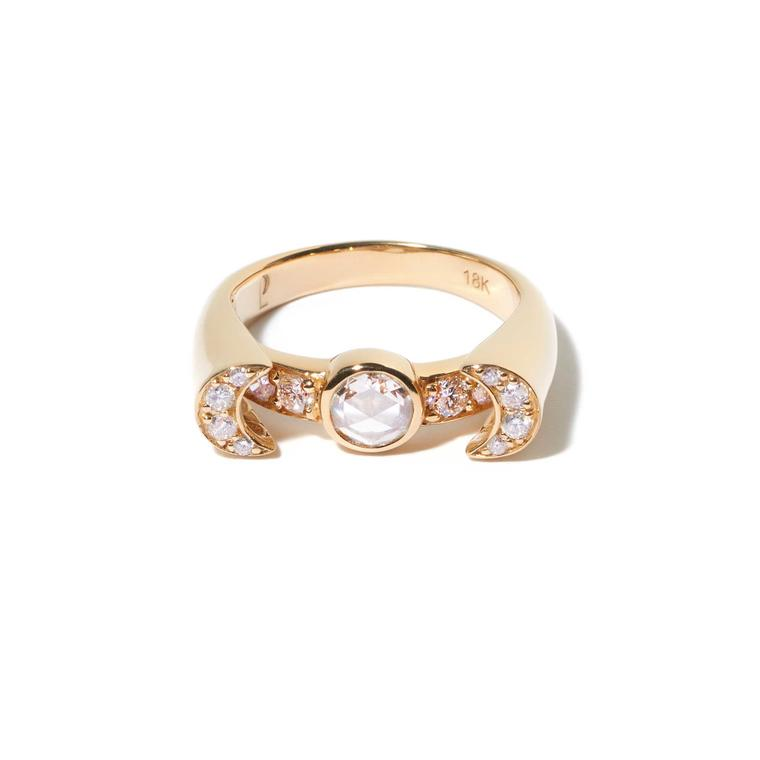 Pamela Love rose-cut diamond ring