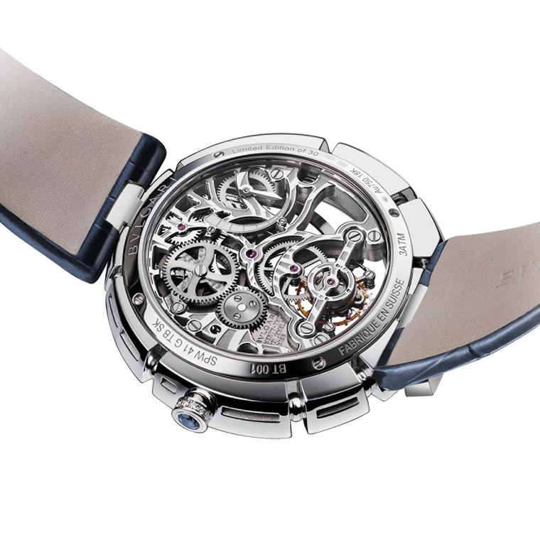 Bulgari Serpenti Incantati Tourbillon Skeleton caseback