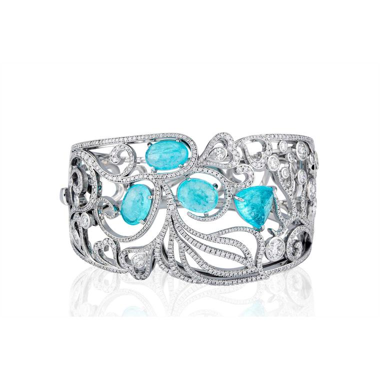Boodles Atlantic Blue cuff