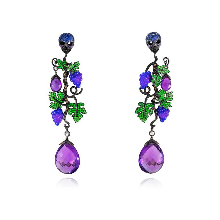 Lydia Courteille Vendange Tardive earrings