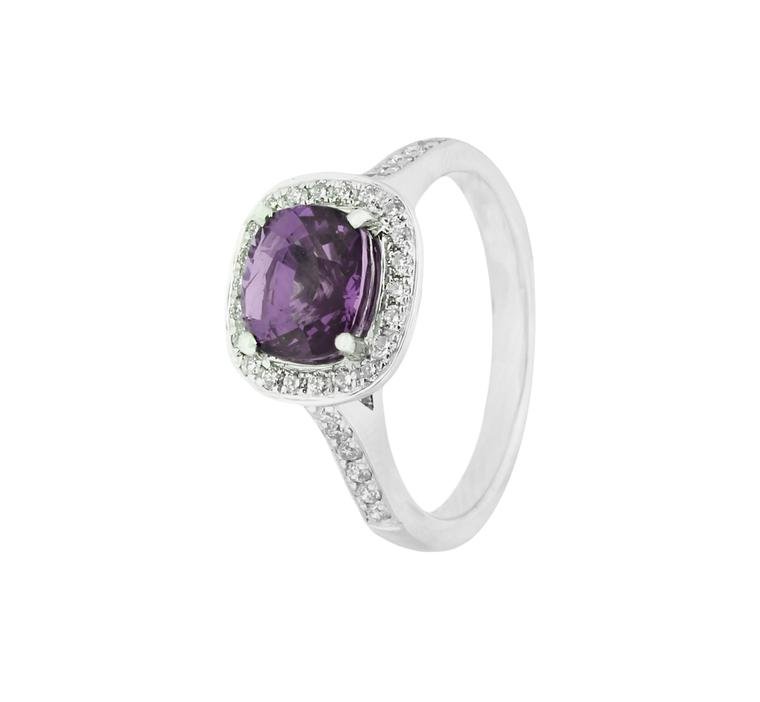 Holts mauve sapphire ring