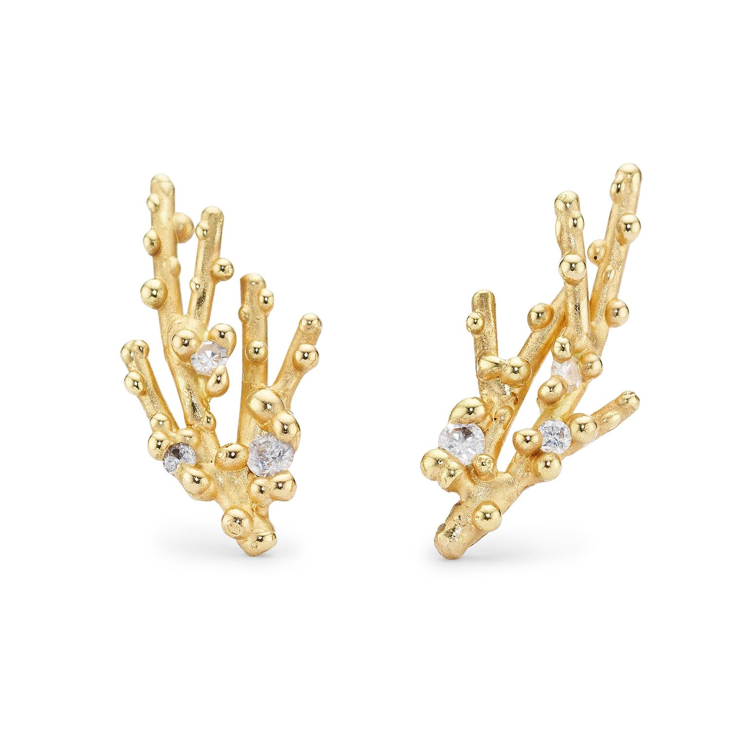 Ruth Tomlinson diamond earrings