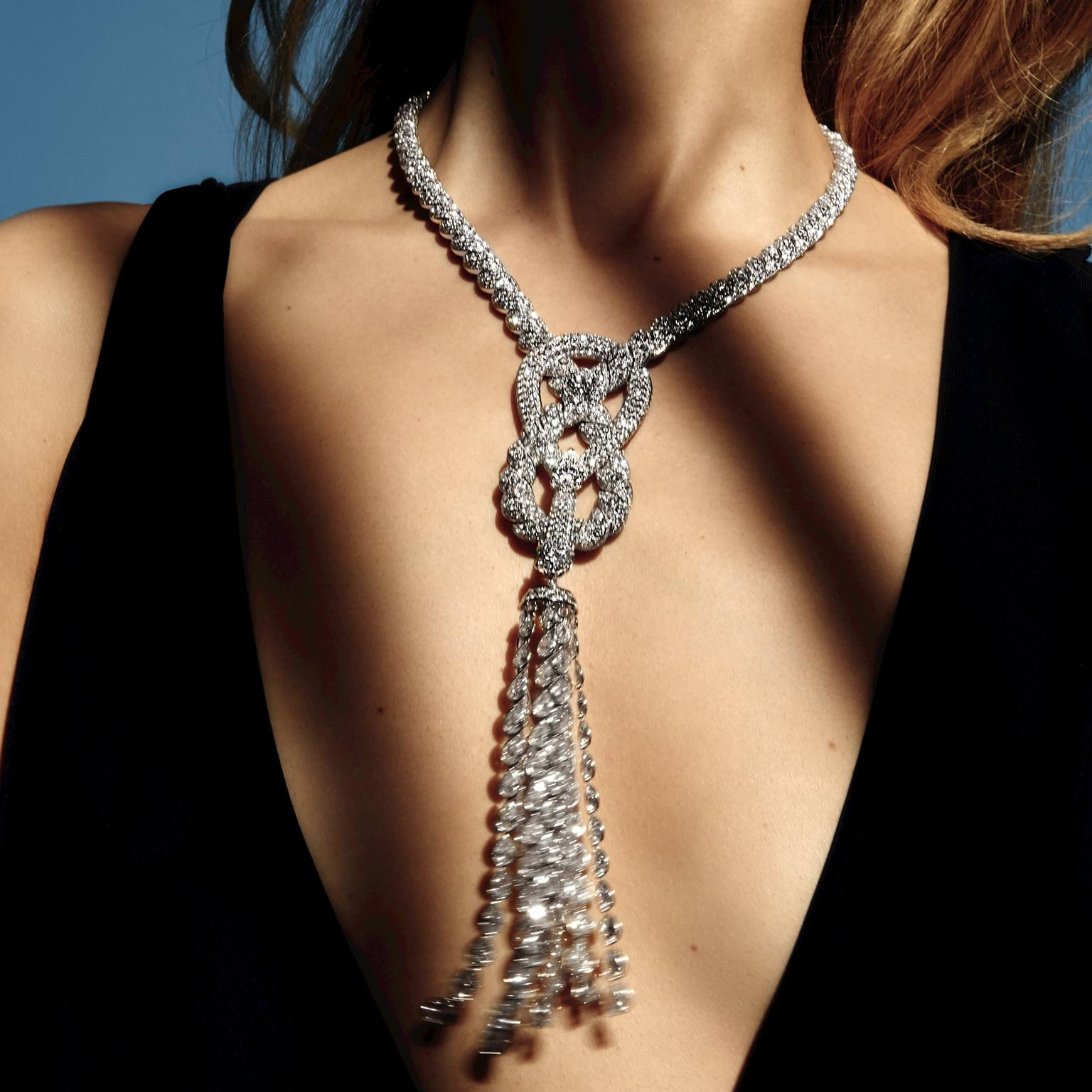 Chanel Endless Knot necklace
