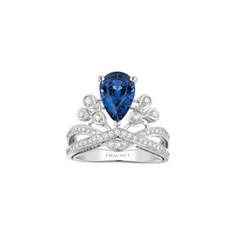 Chaumet Joséphine Aigrette Impériale sapphire and diamond ring