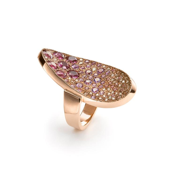 Mattioli rose gold ring