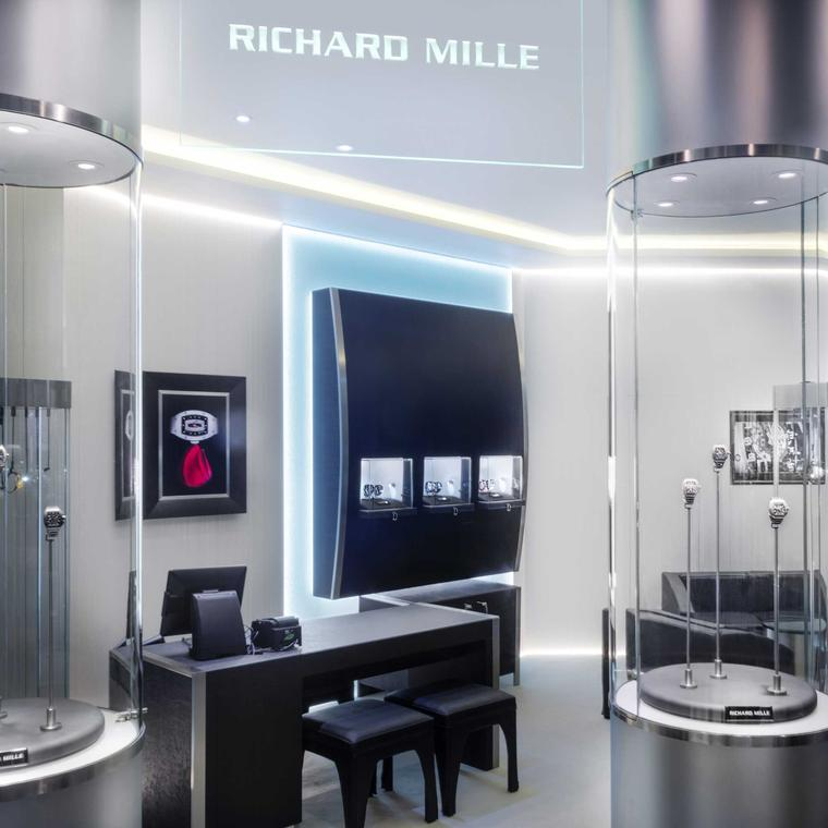 Richard Mille boutique at Harrods, London