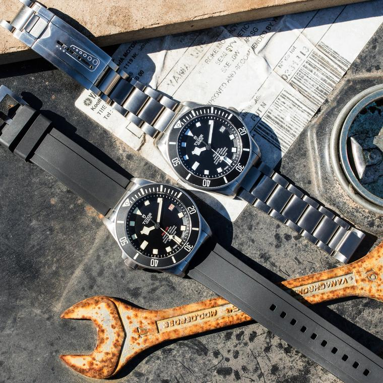Tudor Pelagos LHD left handed dive watches
