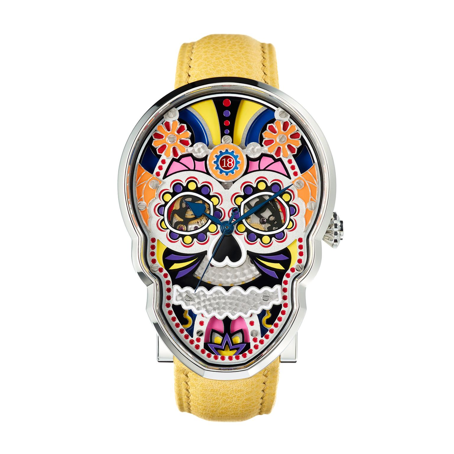 Fiona Kruger Celebration Skull watch