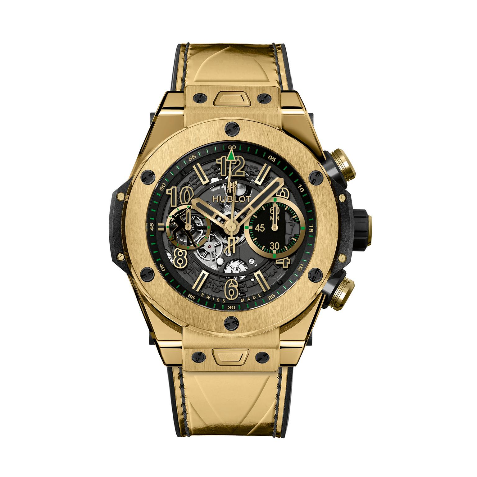 Hublot Big Bang Unico Usain Bolt yellow gold